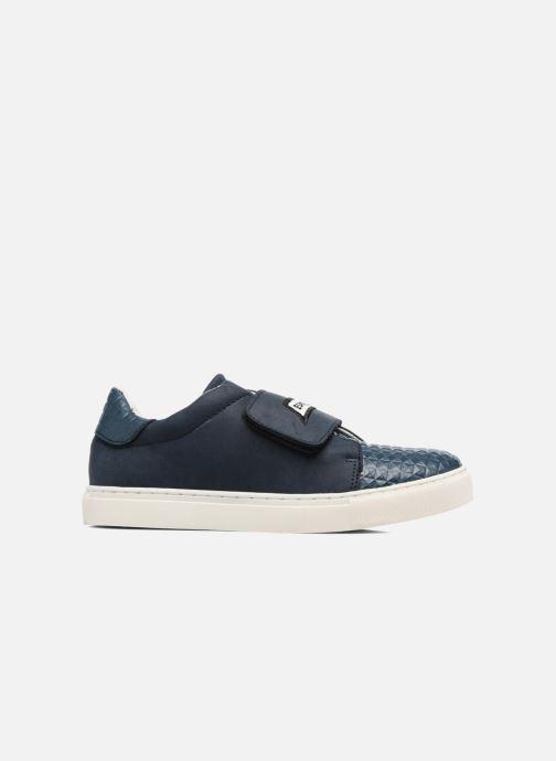 Sneaker Esprit Filou Velcro blau ansicht von hinten