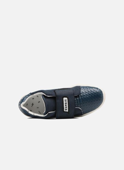 Sneaker Esprit Filou Velcro blau ansicht von links