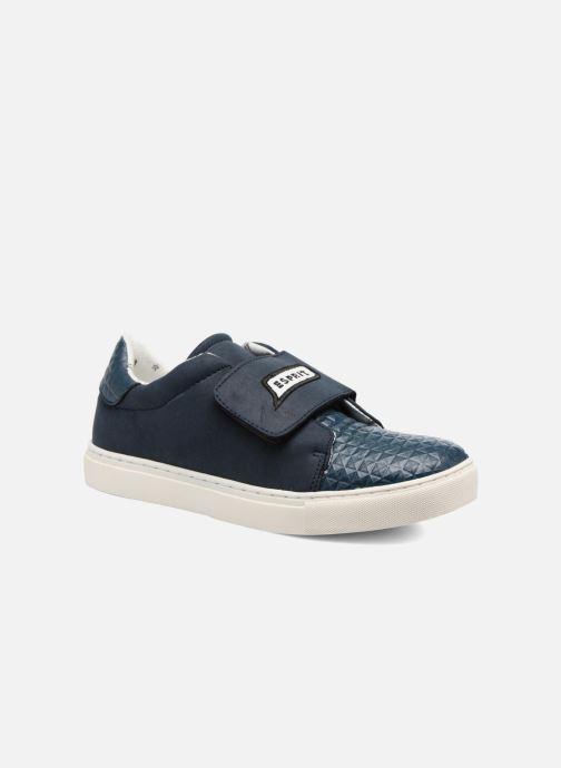 Baskets Esprit Filou Velcro Bleu vue détail/paire