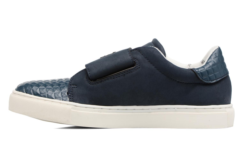 Sneaker Esprit Filou Velcro blau ansicht von vorne
