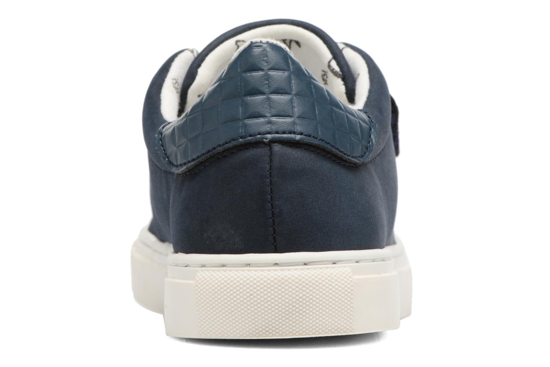 Sneaker Esprit Filou Velcro blau ansicht von rechts