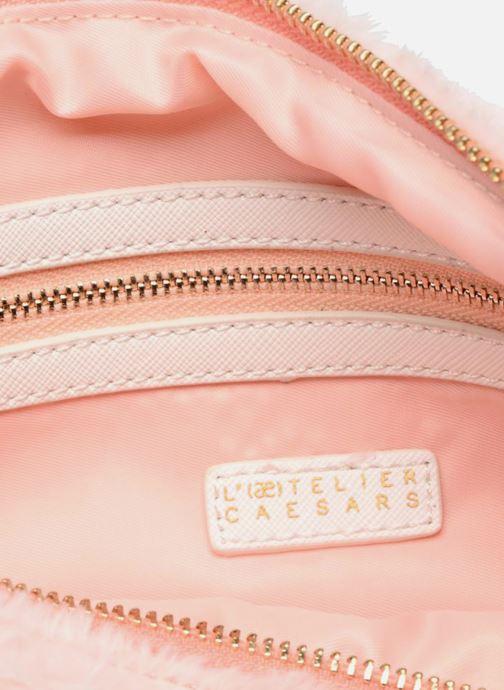 Handbags L'Aetelier Caesars NANY Pochette L Pink back view
