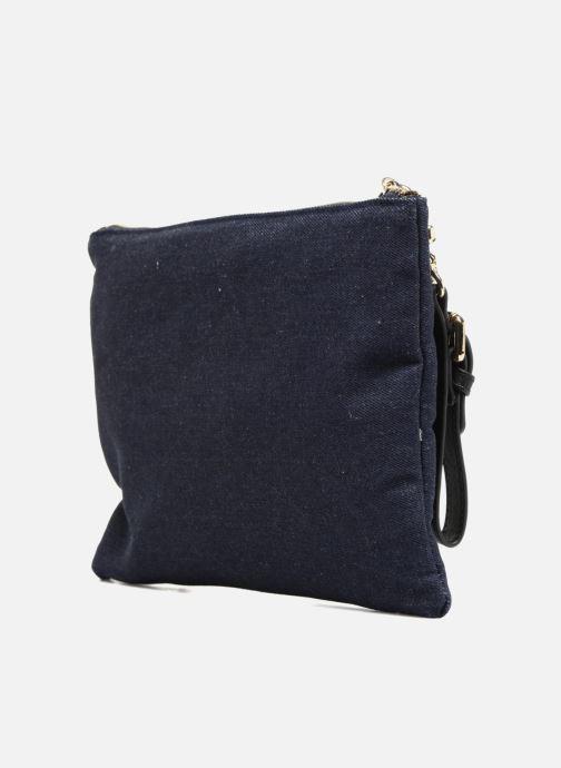 Handbags L'Aetelier Caesars NANY Pochette L Blue view from the right