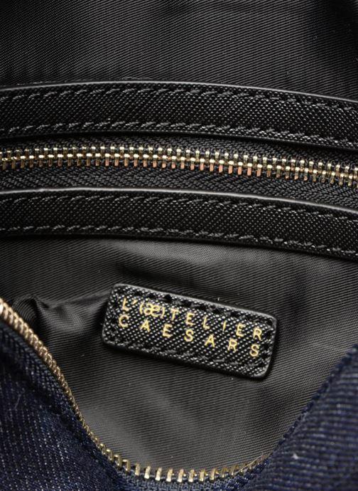Handbags L'Aetelier Caesars NANY Pochette L Blue back view