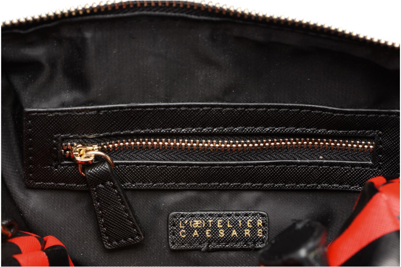 Sacs à main L'Aetelier Caesars LOLA Bowling Bag S Rouge vue derrière