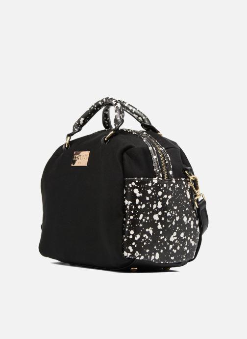 Borse L'Aetelier Caesars LOLA Neopren Bowling Bag L Nero modello indossato
