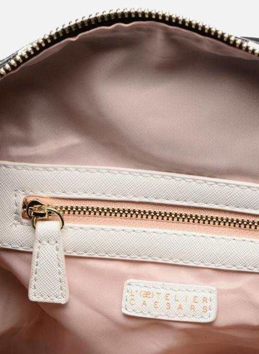 Handbags L'Aetelier Caesars LOLA Neopren Bowling Bag L Black back view