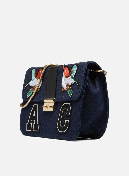 Handbags L'Aetelier Caesars CATY Shoulder bag L Blue model view