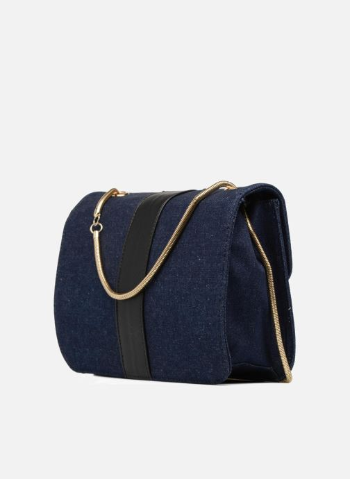 Handbags L'Aetelier Caesars CATY Shoulder bag L Blue view from the right