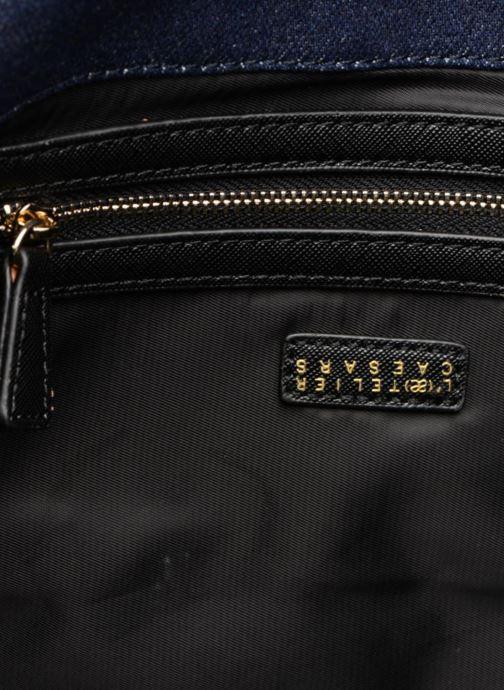Handbags L'Aetelier Caesars CATY Shoulder bag L Blue back view