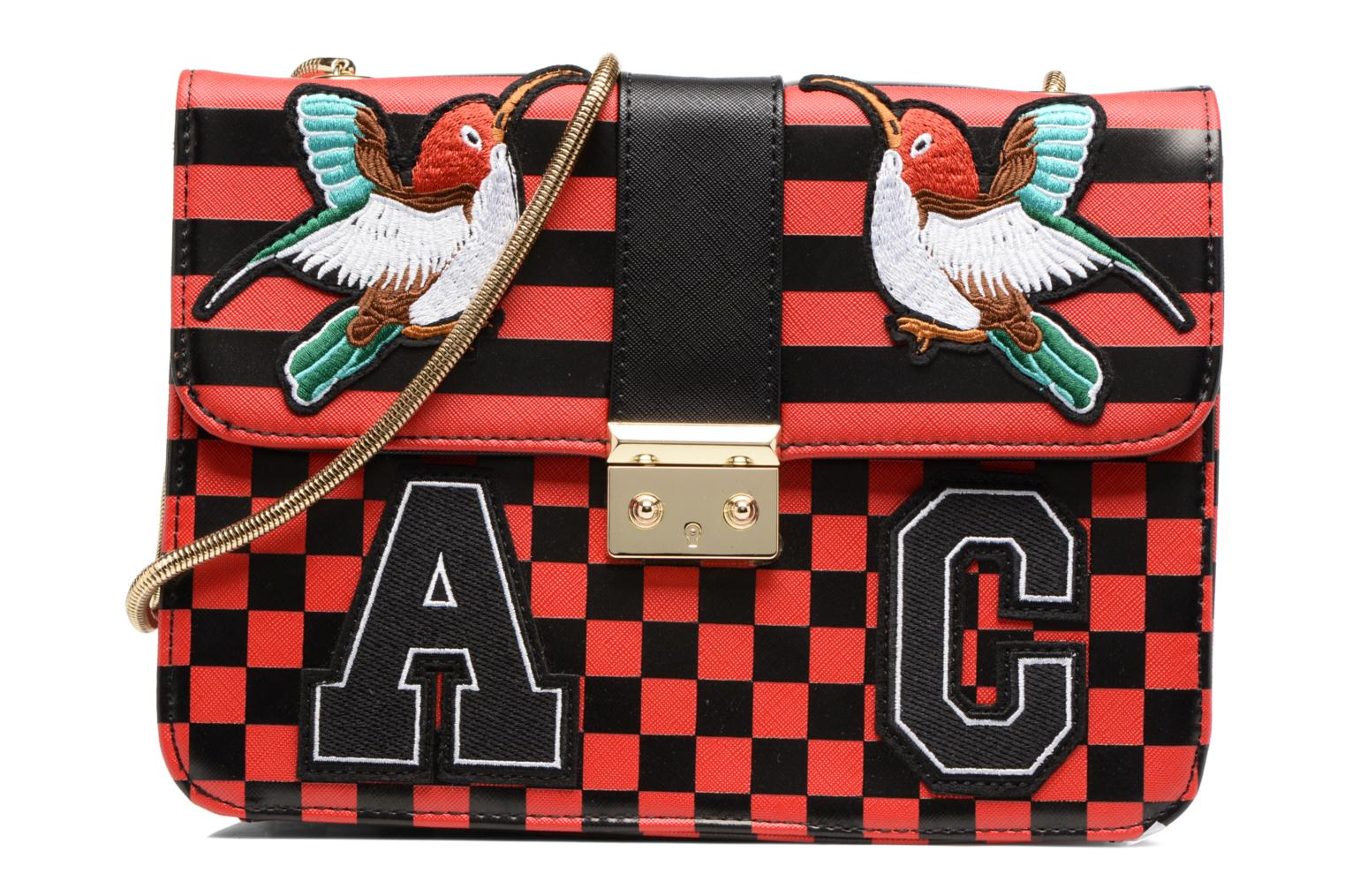 rouge Carreaux noir Shoulder Caesars L'Aetelier bag CATY L HffBaq