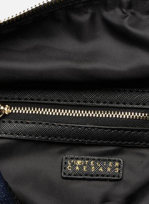 Handbags L'Aetelier Caesars LOLA Bowling Bag L Blue back view