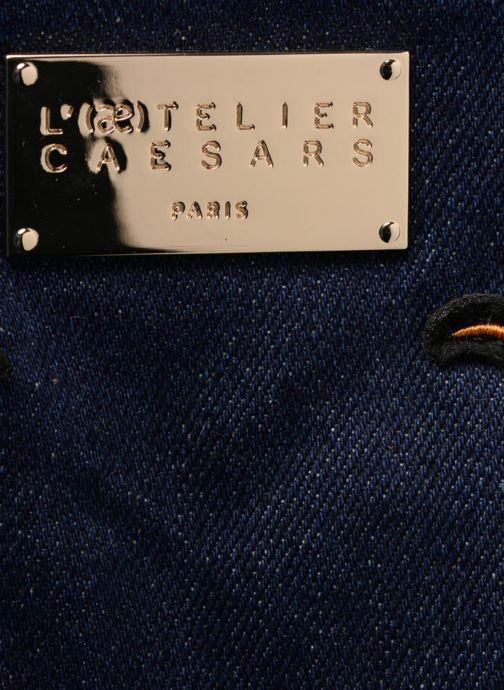 Handbags L'Aetelier Caesars LOLA Bowling Bag L Blue view from the left