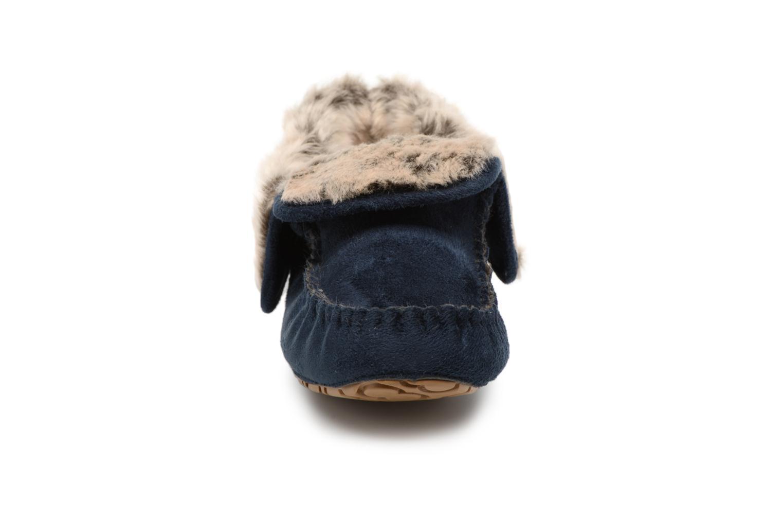 Chaussons Ruby Brown Jaci Bleu vue portées chaussures