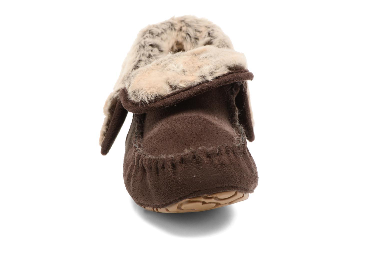 Chaussons Ruby Brown Jaci Marron vue portées chaussures