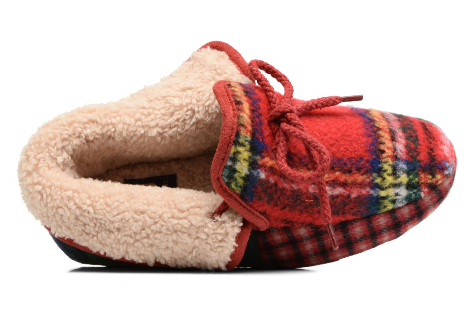 Chaussons Ruby Brown Janet Multicolore vue gauche