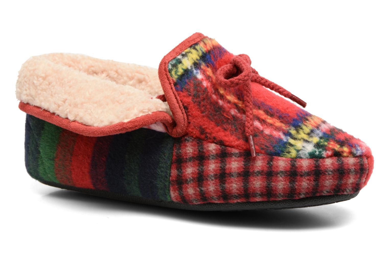 Chaussons Ruby Brown Janet Multicolore vue détail/paire