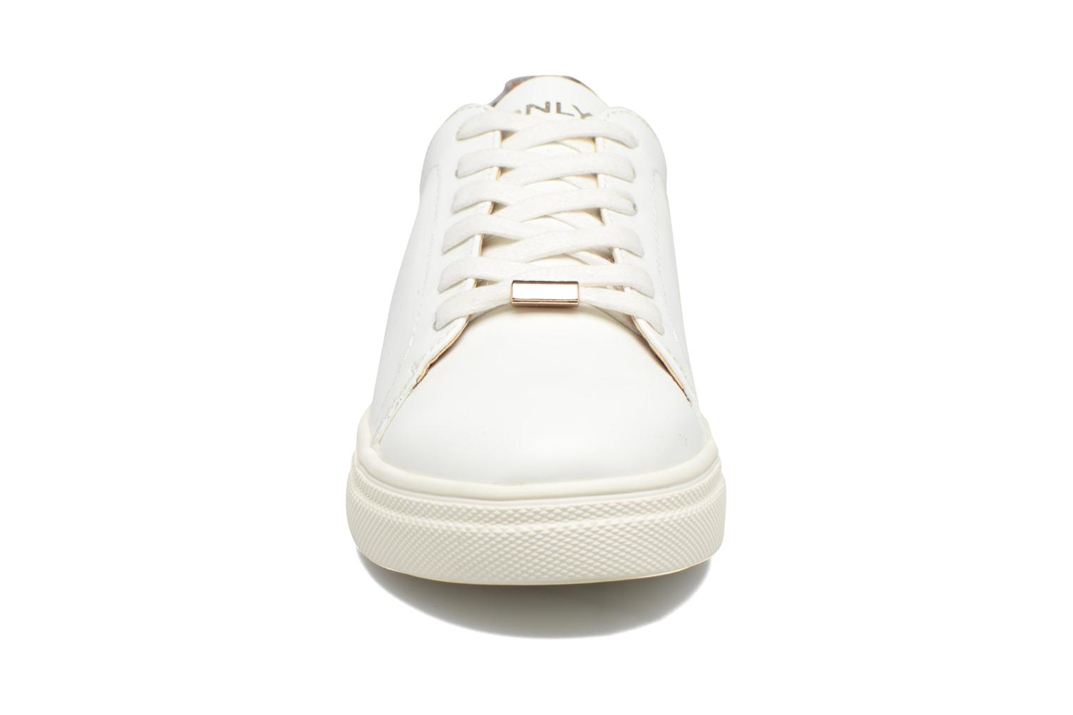 Baskets ONLY Sage contrast sneaker Blanc vue portées chaussures