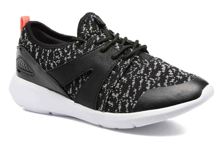 Deportivas ONLY Sumba mix sneaker Negro vista de detalle / par