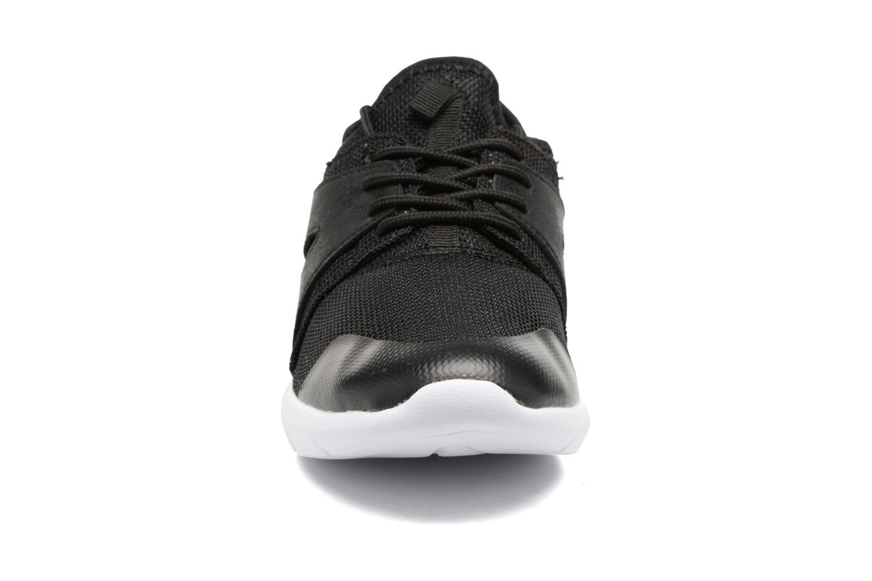 Baskets ONLY Sumba plain sneaker Noir vue portées chaussures