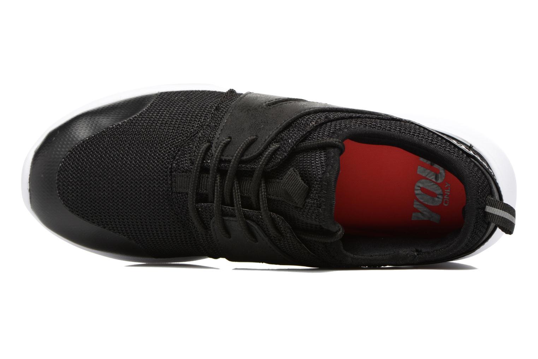 Baskets ONLY Sumba plain sneaker Noir vue gauche