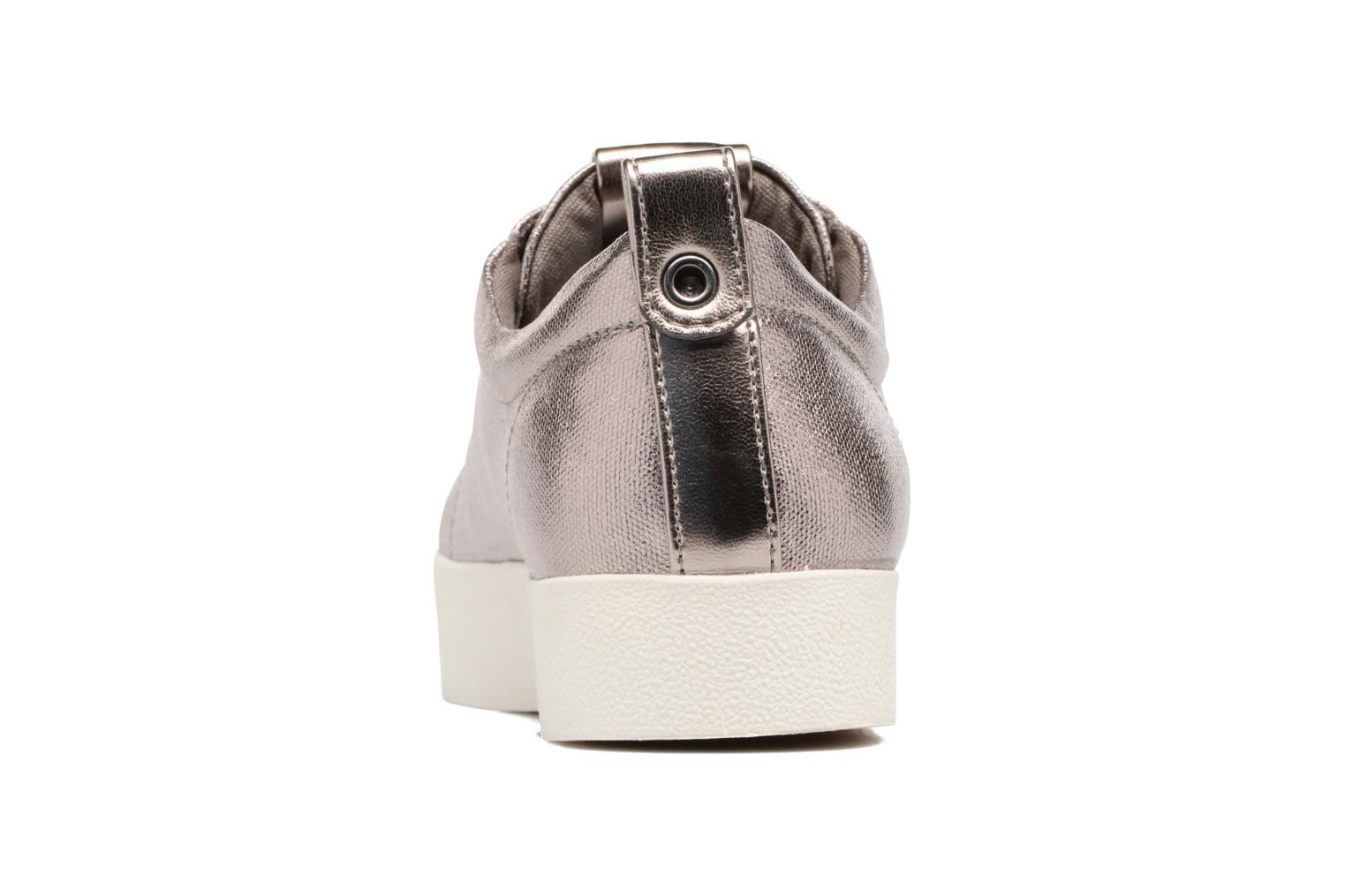 Baskets ONLY Selma sneaker Or et bronze vue droite