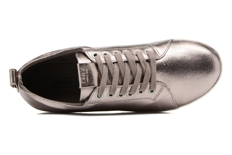 Baskets ONLY Selma sneaker Or et bronze vue gauche