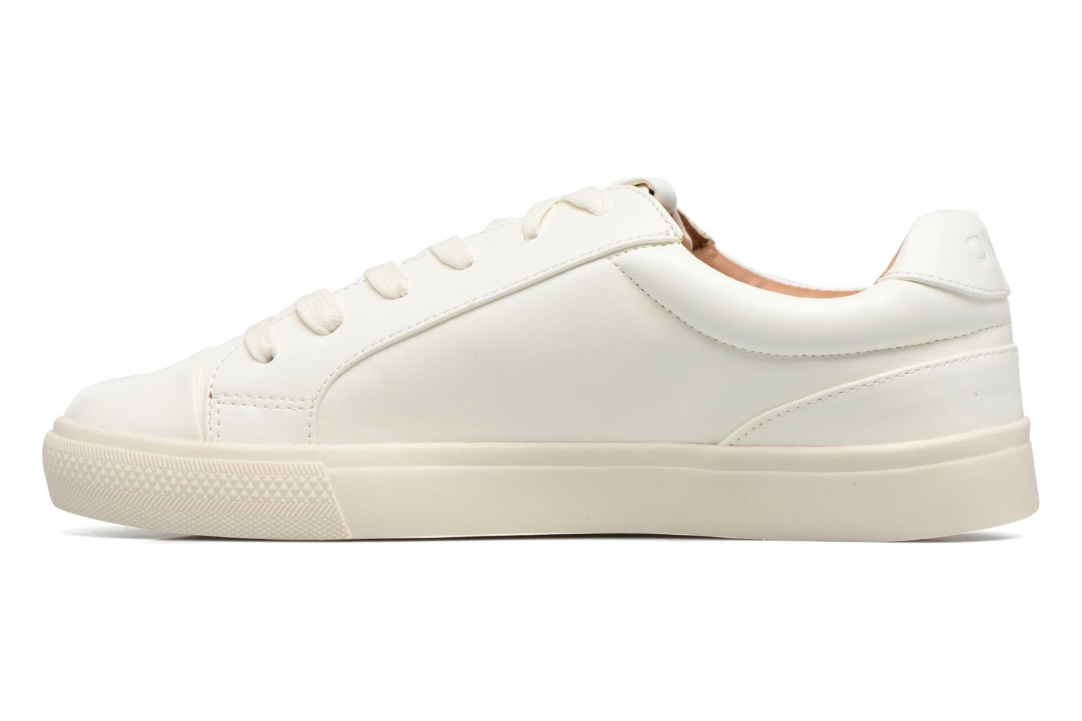 Baskets ONLY Sira skye nude sneaker Blanc vue face