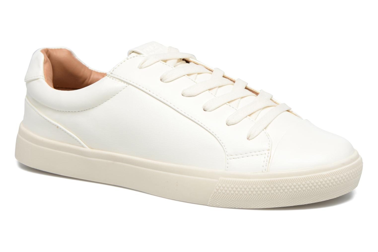Baskets ONLY Sira skye nude sneaker Blanc vue détail/paire