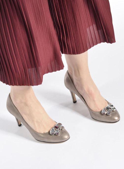 High heels Georgia Rose Epomy Black view from underneath / model view