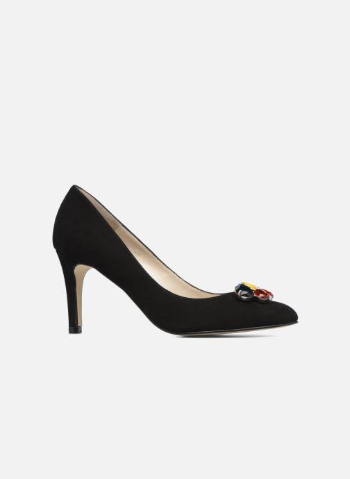Zapatos de tacón Georgia Rose Epomy Negro vistra trasera