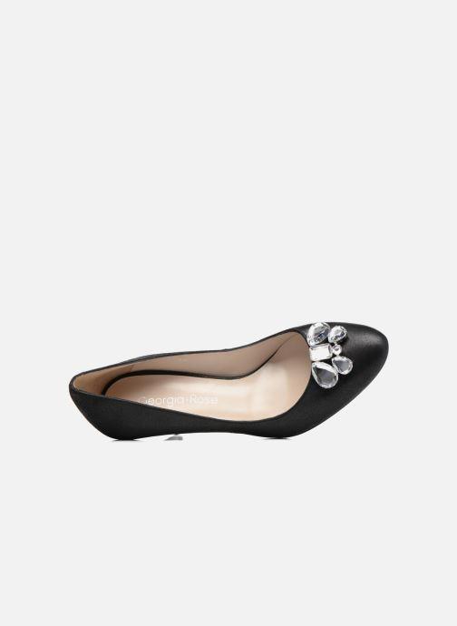 Zapatos de tacón Georgia Rose Epomy Negro vista lateral izquierda
