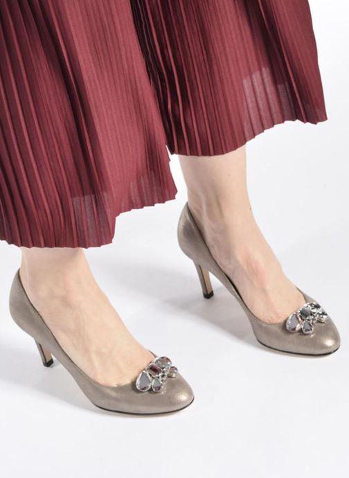 Zapatos de tacón Georgia Rose Epomy Oro y bronce vista de abajo