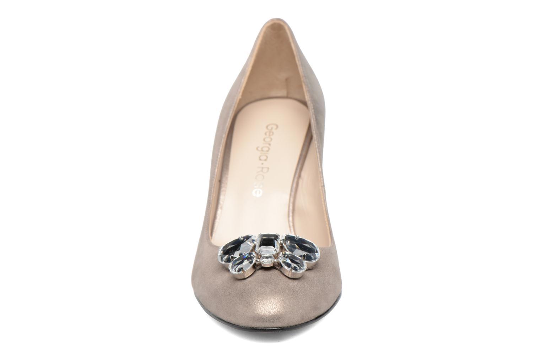 Escarpins Georgia Rose Epomy Or et bronze vue portées chaussures