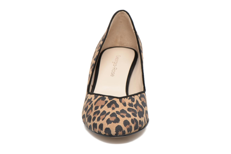 High heels Georgia Rose Eleonie Brown model view