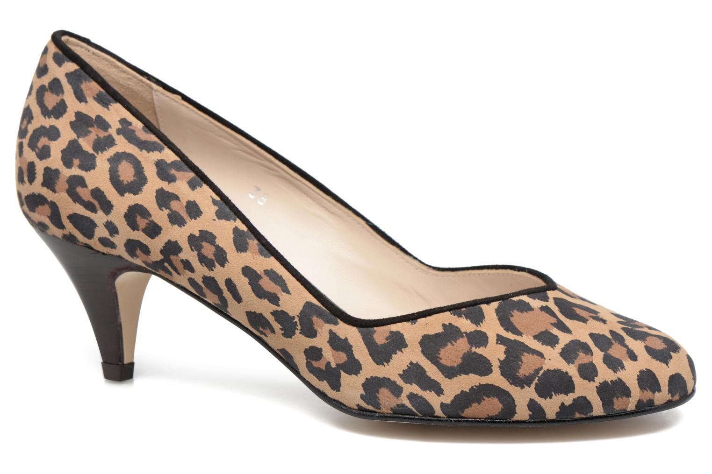 High heels Georgia Rose Eleonie Brown detailed view/ Pair view