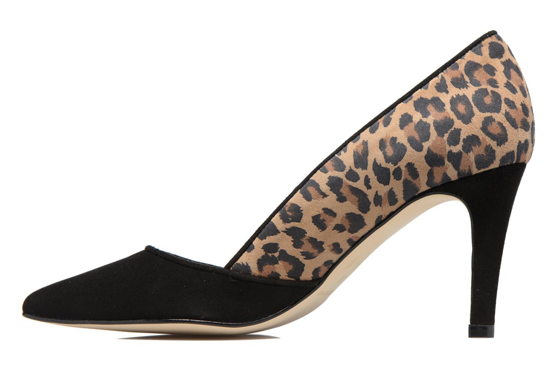 High heels Georgia Rose Elona Brown front view