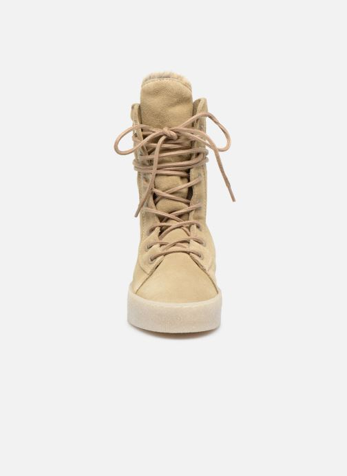 Ankle boots Bronx Bsillax Beige model view