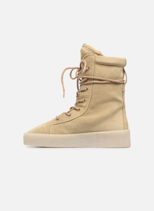 Ankle boots Bronx Bsillax Beige front view