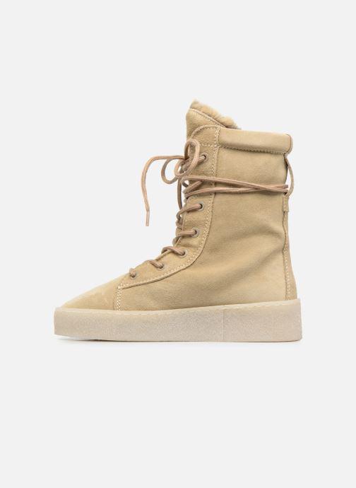 Bottines et boots Bronx Bsillax Beige vue face