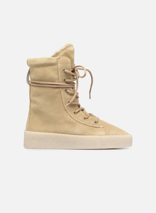 Ankle boots Bronx Bsillax Beige back view