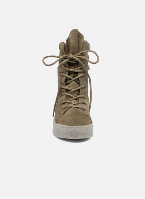 Ankle boots Bronx Bsillax Green model view
