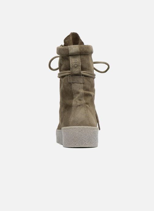 Ankle boots Bronx Bsillax Green view from the right