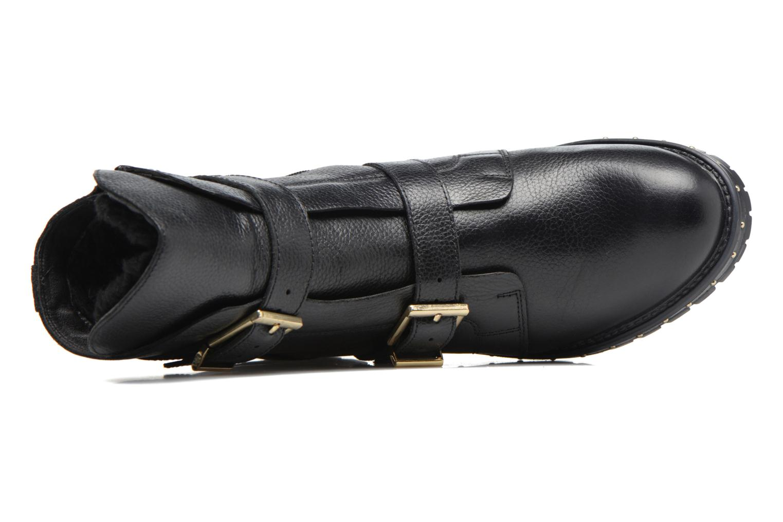 Bottines et boots Bronx Bnewfalcox Noir vue gauche