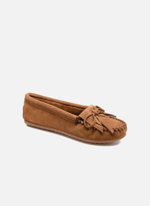 Mocassins Minnetonka Kilty Marron vue détail/paire