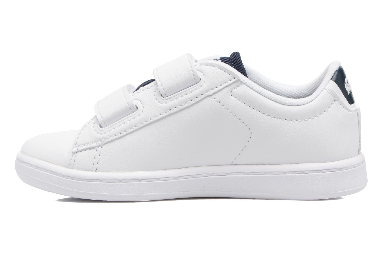 Baskets Lacoste Carnaby Evo 317 1 Spi Blanc vue face