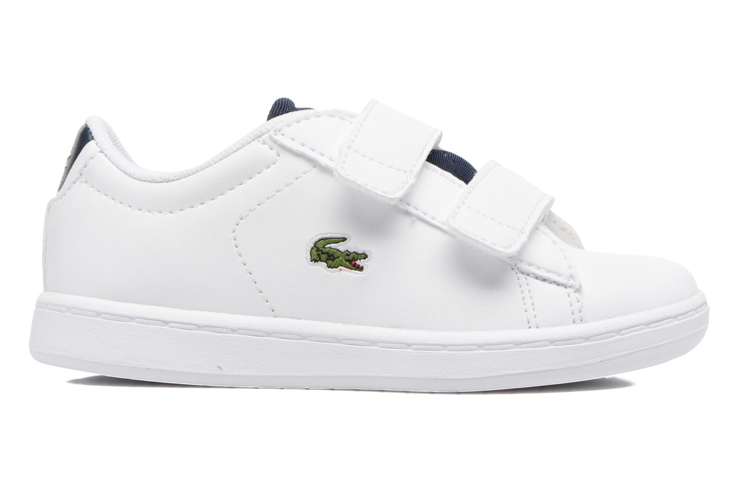Baskets Lacoste Carnaby Evo 317 1 Spi Blanc vue derrière