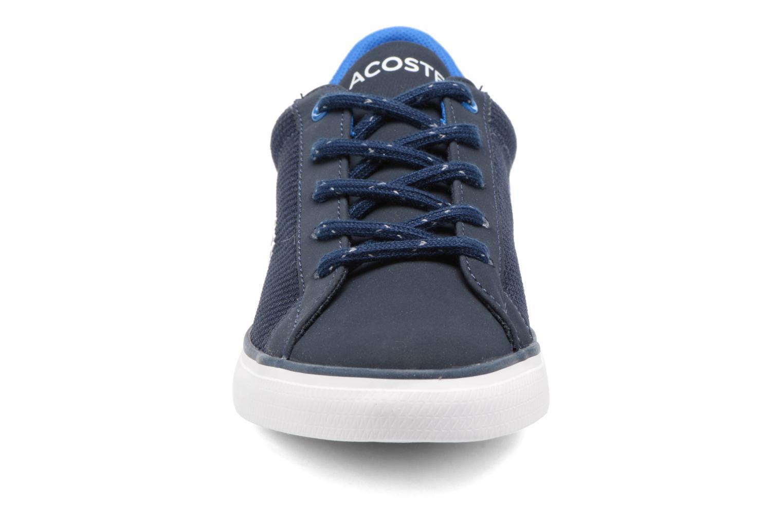 Baskets Lacoste Lerond 317 2 C Bleu vue portées chaussures