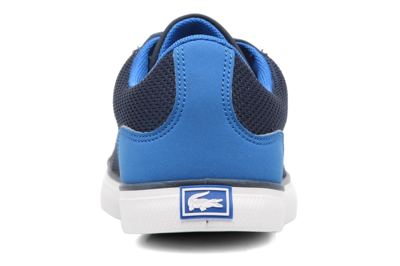 Baskets Lacoste Lerond 317 2 C Bleu vue droite