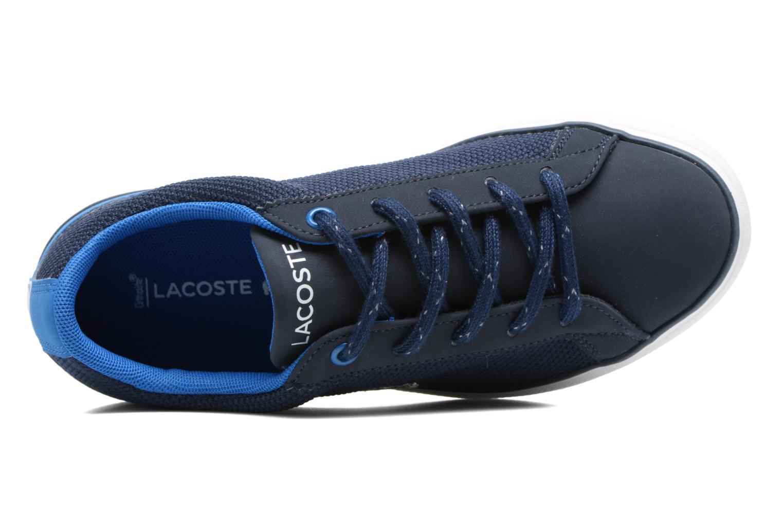 Baskets Lacoste Lerond 317 2 C Bleu vue gauche